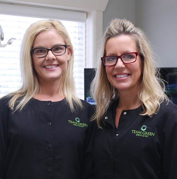 Team Green Dentistry staff members